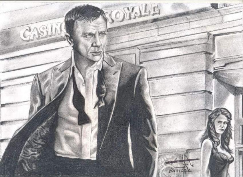 Daniel Craig by maged10